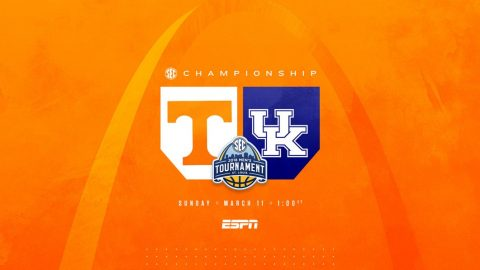 2018 SEC Tournament Championship Game - Tennessee vs. Kentucky