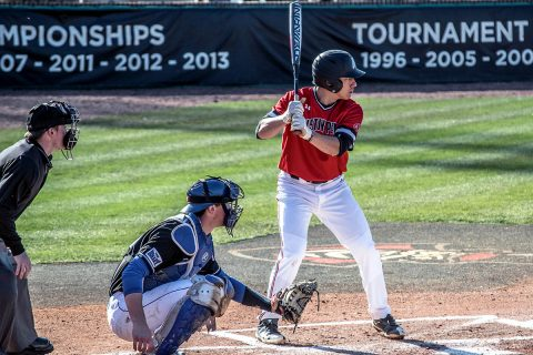 Austin Peay Baseball loses to Indiana State 11-5 Sunday at Raymond C. Hand Park. (APSU Sports Information)