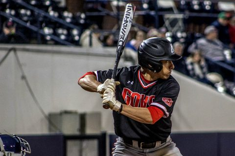 Austin Peay Baseball closed on Ole Miss, but Rebels rally to win 11-4 Tuesday night. (APSU Sports Information)