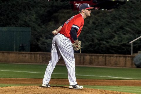 Austin Peay Baseball's offense unable to get on track Wednesday night against Samford. (APSU Sports Information)