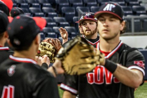 Austin Peay Baseball plays three games at Jacksonville State starting Friday, at 11:00am. (APSU Sports Information)