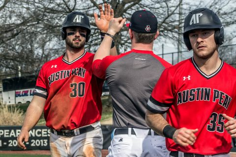 Austin Peay Baseball beats Jacksonville State Friday in OVC opener. (APSU Sports Information)