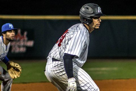 Austin Peay Baseball loses to Middle Tennessee Blue Raiders at Raymond C. Hand Park Tuesday night. (APSU Sports Information)