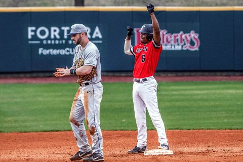 Austin Peay Baseball gets 4-2 win over Kansas State, Wednesday. (APSU Sports Information)