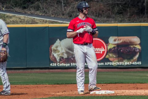 Austin Peay Baseball jumps out early on Tennessee Tech, but unable to keep the lead in 12-6 loss. (APSU Sports Information)