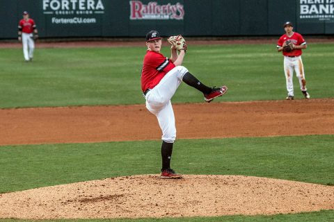 Austin Peay Baseball gets two walk-off wins in doubleheader against Southeast Missouri at Raymond C. Hand Park, Friday. (APSU Sports Information)