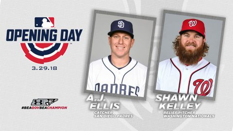 APSU Baseball alumni A.J. Ellis and Shawn Kelley are on Major League Baseball Opening Day Rosters. (APSU Sports Information)