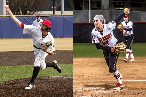 Austin Peay Baseball and Softball teams have begun the season with solid pitching. (APSU Sports Information)