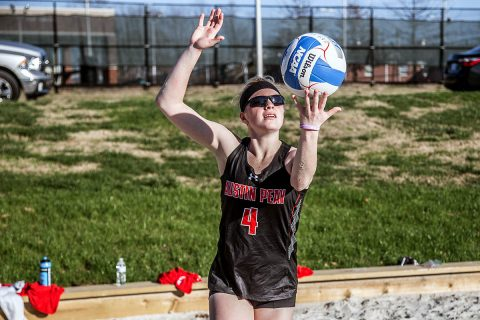Austin Peay Beach Volleyball gets 5-0 sweep of Carson Newman Saturday for their third straight win. (APSU Sports Information)
