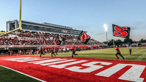 APSU Governors Spring Football Showcase to be held this Saturday at Fortera Stadium. (Robert Smith, APSU Sports Information)