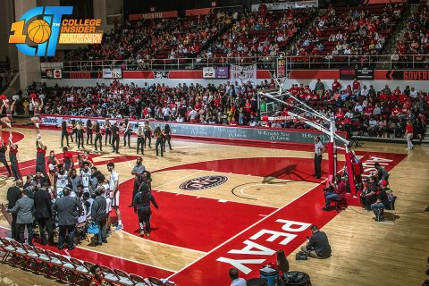 Austin Peay Men's Basketball to host first-round game of the CollegeInsider.com postseason basketball tournament on March 15th. (APSU Sports Information)