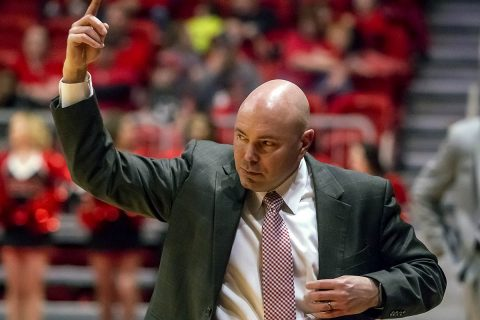 Matt Figger and the Austin Peay Basketball team will take on ULM in the opening game of the CollegeInsider.com Tournament at the Dunn Center on Thursday, March 15th. (APSU Sports Information)