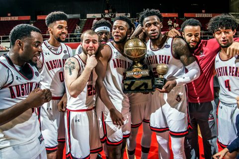 Austin Peay Men's Basketball gets 80-60 win over ULM at the Dunn Center Thursday night in the CIT. (APSU Sports Information)