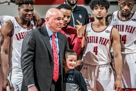 Austin Peay Men's Basketball to play UIC in the CIT quarterfinals Wednesday at the Dunn Center. (APSU Sports Information)