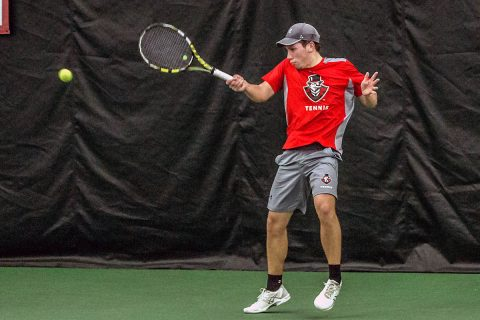 Austin Peay Men's Tennis play home match against Detroit Mercy today at noon. (APSU Sports Information)