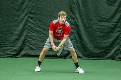 Austin Peay Men's Tennis heads to Tennessee Sunday then hosts IUPUI Tuesday. (APSU Sports Information)
