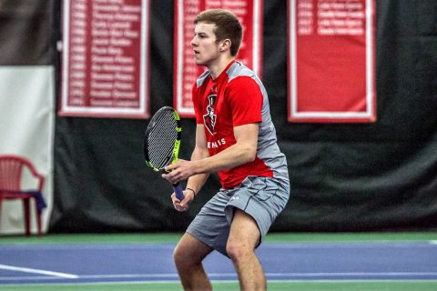 Austin Peay Men's Tennis faces Tennessee State and Belmont this weekend. (APSU Sports Information)
