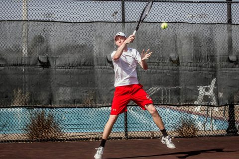Austin Peay Men's Tennis hits the road for two key OVC matches this weekend against Tennessee Tech and Jacksonville State. (APSU Sports Information)
