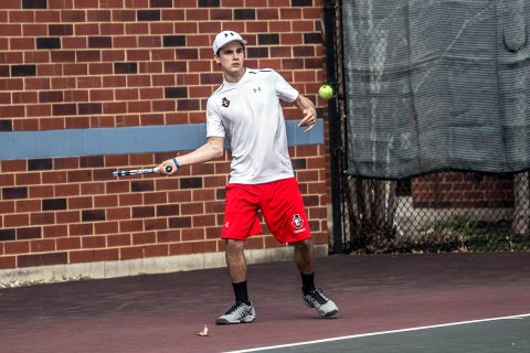 Austin Peay Men's Tennis falls to Jacksonville State 6-1, Saturday. (APSU Sports Information)