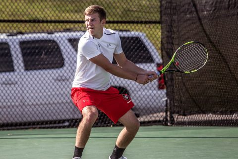 Austin Peay Men's Tennis plays Saint Louis Tuesday afternoon at the APSU Tennis Courts. (APSU Sports Information)