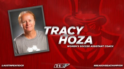 Tracy Hoza hired as Austin Peay Soccer assistant coach. (APSU Sports Information)