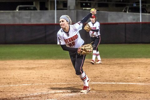 Austin Peay Softball loses 5-2 to Evansville in Hilltopper Spring Fling Tournament Championship game held Sunday afternoon. (APSU Sports Information)