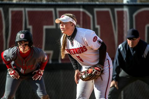 Austin Peay Softball unable to rally in 3-1 loss to Mercer, Sunday. (APSU Sports Information)