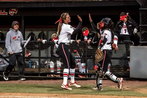 Austin Peay Softball splits doubleheader with Eastern Kentucky, Monday. (APSU Sports Information)