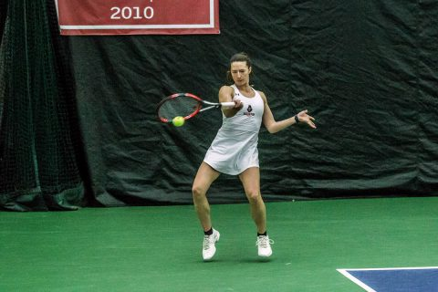 Austin Peay Women's Tennis gets 5-2 win over Kennesaw State, Sunday. (APSU Sports Information)