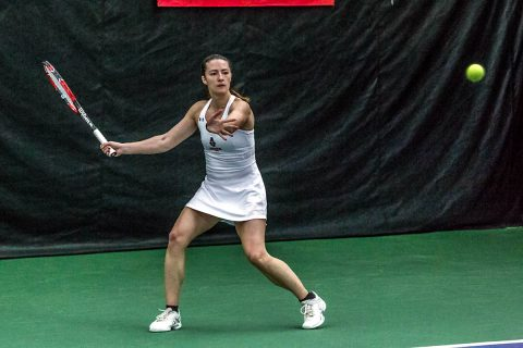 Austin Peay Women's Tennis loses close match to Jacksonville State, 4-3. (APSU Sports Information)