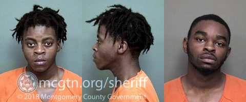 (L to R) Auctaveon Steele and Kenneth Hill have been arrested in connection to the shooting in the Farmington Subdivision.