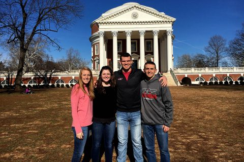 Austin Peay Student-Athletes went to Charlottesville, VA to take park in the 2018 APPLE Training Institute. (APSU Sports Information)