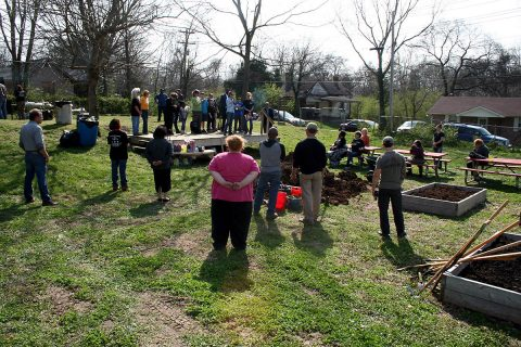 Sponsors and volunteers gathered Tuesday for the Brandon Hills Heritage Youth Garden Gala.