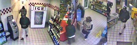 Clarksville Police are trying to identify the burglary suspects in these photos.