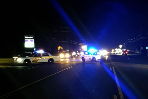 Clarksville Police responded to a vehicle accident at Tiny Town Road and Cainlo Drive Saturday night where a pedestrian was struck and killed.