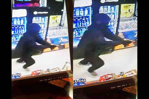 Clarksville Police are trying to identify the person in this photo for the attempted robbery of a store on Fort Campbell Boulevard.