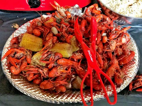 Subdued Few Crawfish Boil Open House