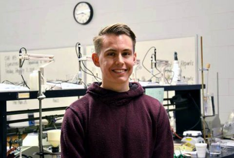 Hopkinsville Community College student Joshua Rozmarynowski