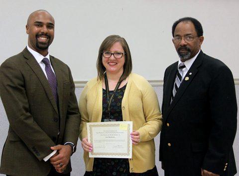 Kenwood Middle School social studies teacher Kim McDaniel