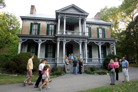 Nashville Zoo Historic Home. (Vanderbilt University, Steve Green)