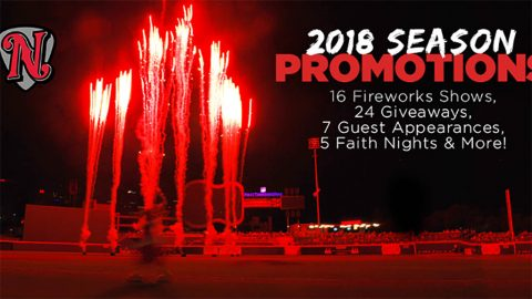 Sounds Announce 2018 Promotions Schedule