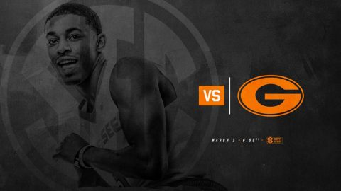 Tennessee Men's Basketball takes on Georgia at Thompson-Boling Arena, Saturday. Tip off is at 5:00pm CT. (Tennessee Athletics)