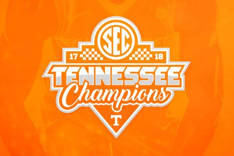 Tennessee Men's Basketball are co SEC Regular Season Champions. (Tennessee Athletics)