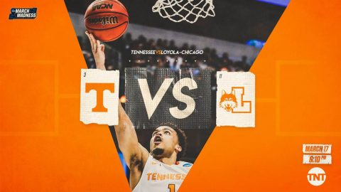 Tennessee Men's Basketball takes on Loyola-Chicago in the NCAA Tournament Saturday. Tip off is at 5:10pm CT. (Tennessee Athletics)