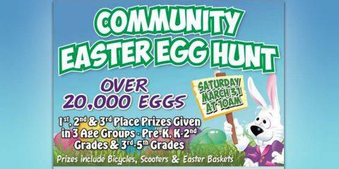 Yellow Creek Baptist Church 2018 Community Easter Egg Hunt