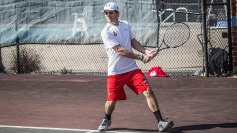 Austin Peay Men's Tennis loses to Belmont, 6-1, Saturday. (APSU Sports Information)