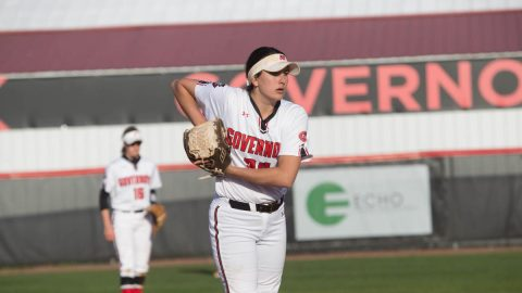Austin Peay Women's Softball beats Tennessee Tech 7-2 and 2-1 at Cheryl Holt Field, Friday. (APSU Sports Information)