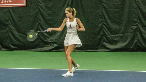 Austin Peay Women's Tennis defeats Southeast Missouri 4-3, Friday. (APSU Sports Information)