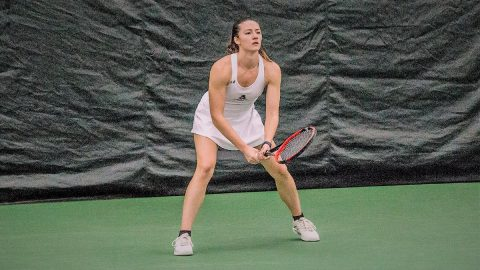 Austin Peay Women's Tennis gets home win over Belmont Saturday to open OVC Season. (APSU Sports Information)