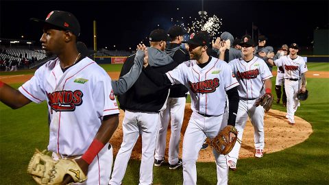 Nashville Sounds pitcher James Naile Earns Win With 5.2 Shutout Innings. (Nashville Sounds)
